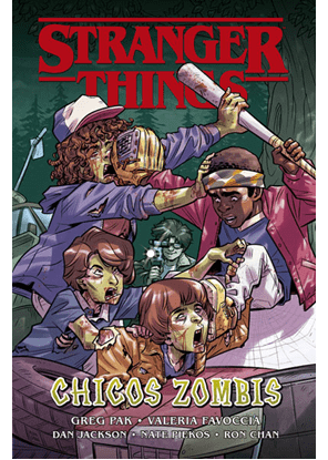 Stranger Things Chicos Zombis