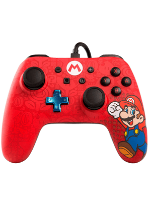 Wired Controller Switch Super Mario