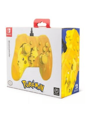 Wired Controller Pikachu Switch