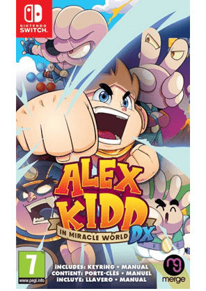 Alex Kidd in Miracle World DX Switch